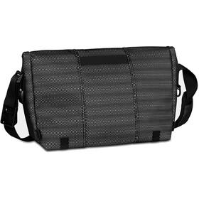Timbuk2 Maze Classic Messenger Bag M, jet black woven reflective